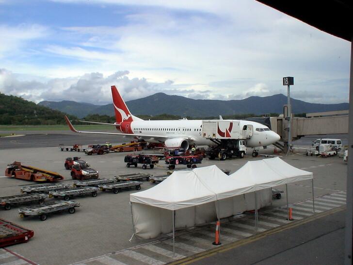 В аэропорту Брисбена