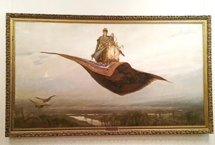 В.М. Васнецов «Ковер-самолет» (Нижегородский художественный музей)