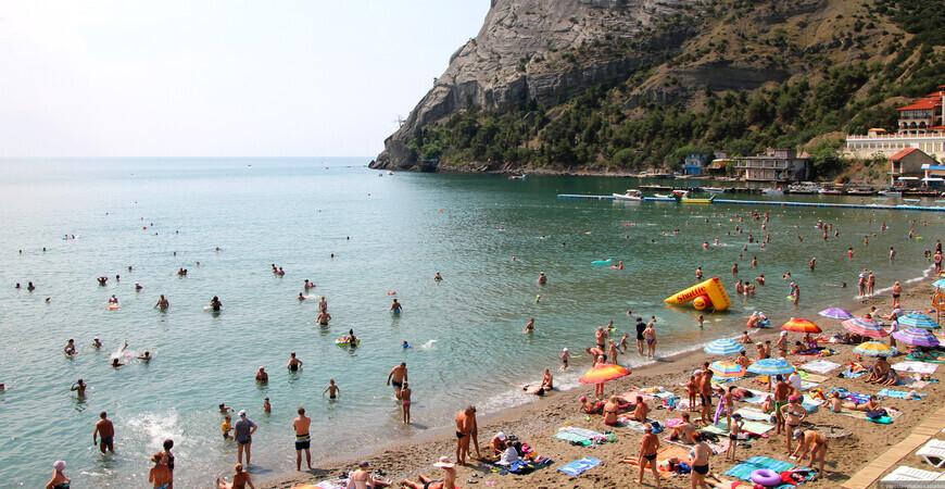 Пляж «Зеленая бухта»