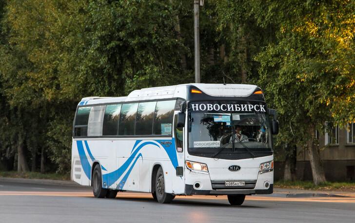 Автобус Новосибирск — Чемал