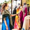 Рынок тканей в Дубае