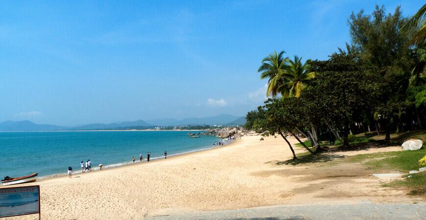 Пляж Тианья-Хайджиао