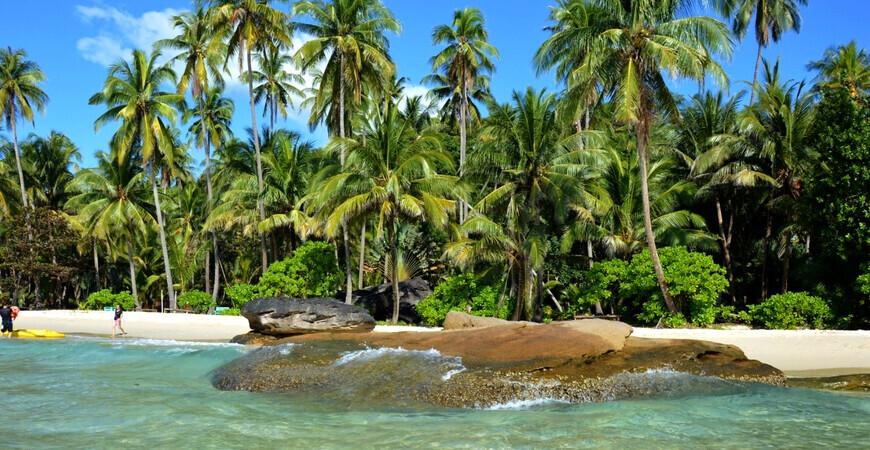 Пляж Ao Noi на острове Ко Куд