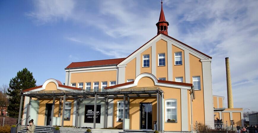 Музей и магазин стекла «Moser»