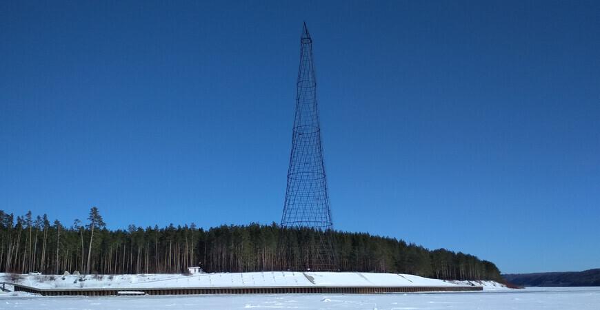 Шуховская башня на Оке<br/> в Дзержинске