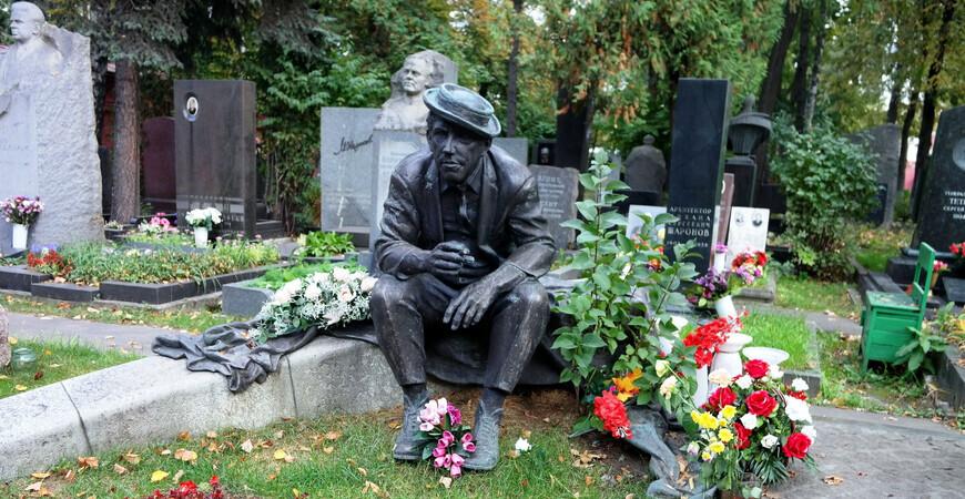 Новодевичье кладбище в Москве