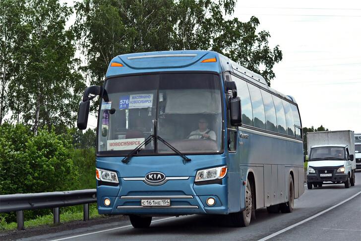 Автобус Новосибирск — Маслянино