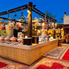 Стол горячих блюд в ресторане Аль Хадира