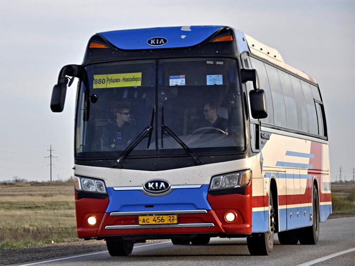 Автобус Новосибирск – Рубцовск