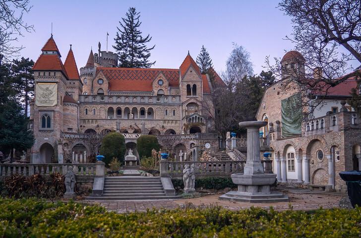 Дворец Бори в городе Секешфехервар