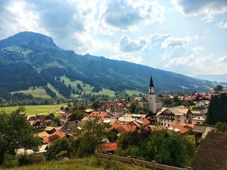 Бад-Хинделанг (Немецкая Альпийская дорога)