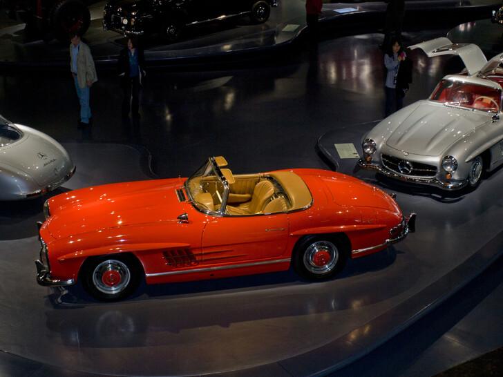 Музей «Mercedes- Benz»