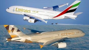 Etihad и Emirates возобновляют полёты