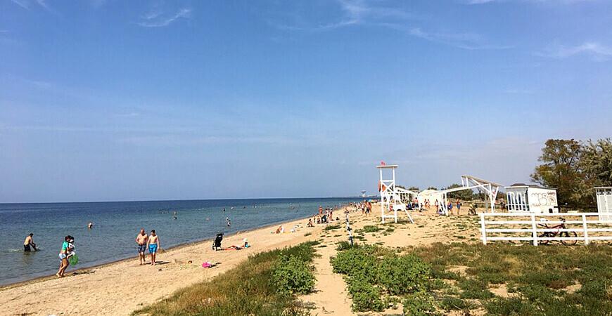 Пляж «Мохито» в Заозерном