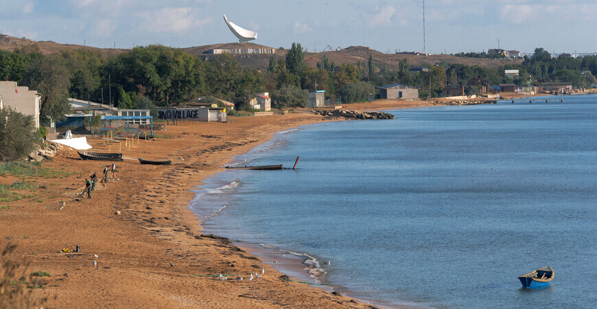 Пляжи поселка Героевское