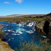 Вокруг Исландии с палаткой. Лавовый водопад, полуостров сюрпризов, Акюрейри