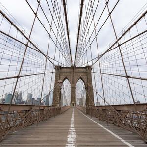 Нью-Йорк без туристов, часть 2 - Бруклинский мост, DUMBO