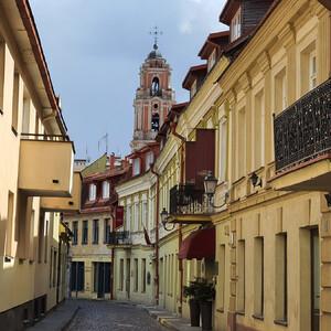 Вильнюс. Дворики Старого города