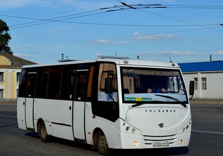 Автобус Владимир — Муром