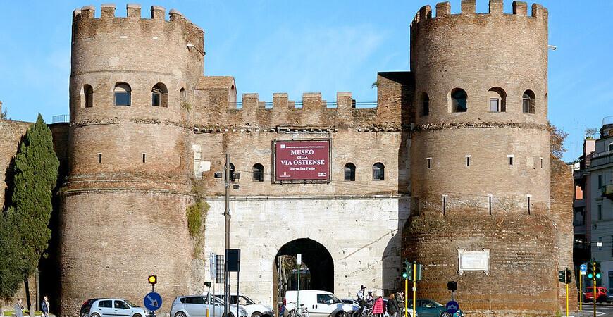 Ворота Cан Паоло <br/> (Porta San Paolo)