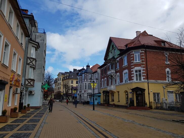 Исторический центр Зеленоградска