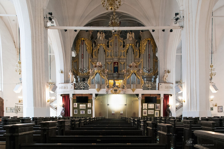 Орган в Кафедральном соборе