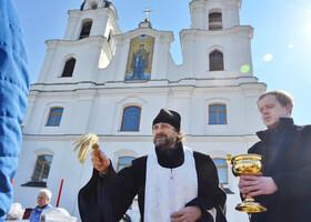 Как Минск отпраздновал Пасху