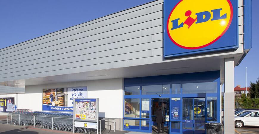 Сеть супермаркетов «Lidl» в Праге