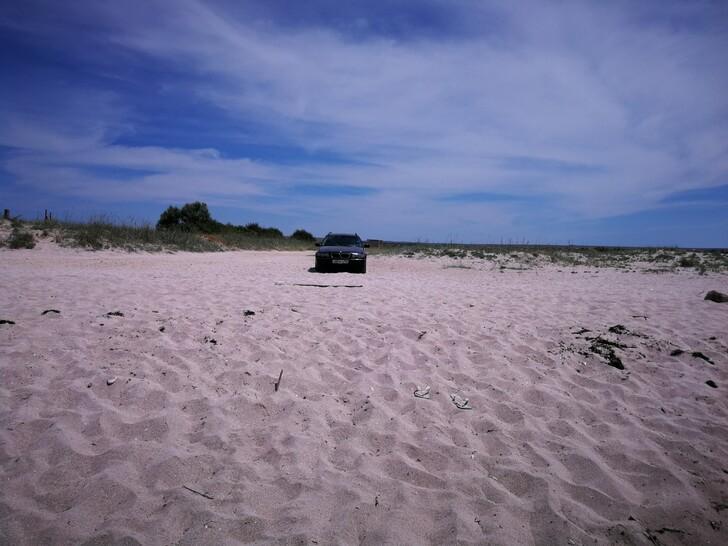 Пляж на мысе Тарханкут