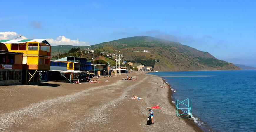 Центральный пляж п. Рыбачье