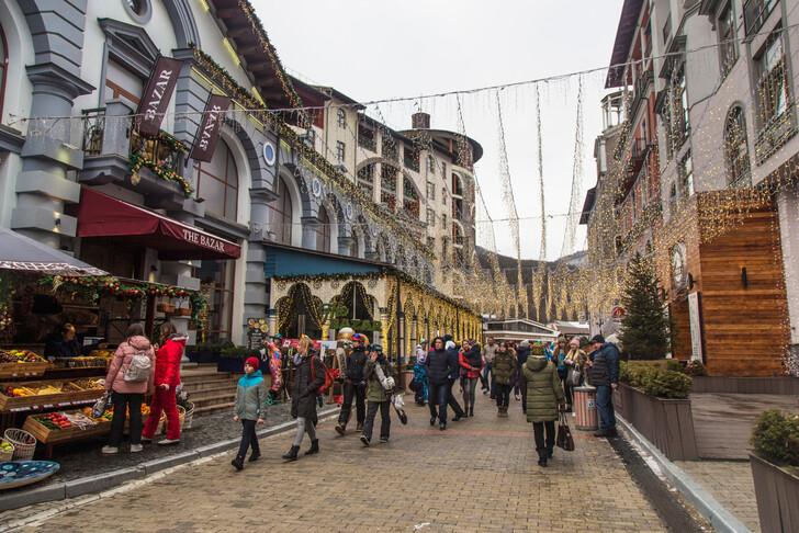 Сувенирные магазины на Красной Поляне