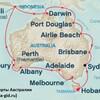 карта круизных экскурсий в Австралии