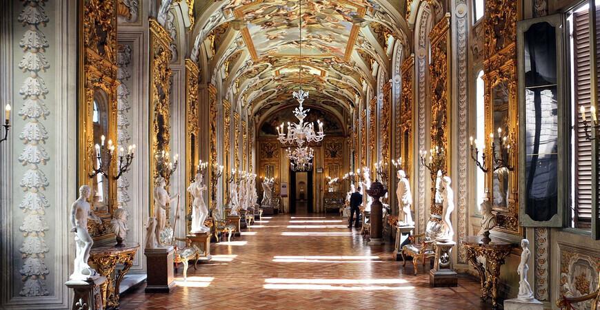 Палаццо Дориа Памфили в Риме