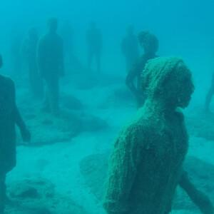Подводный музей на Лансароте