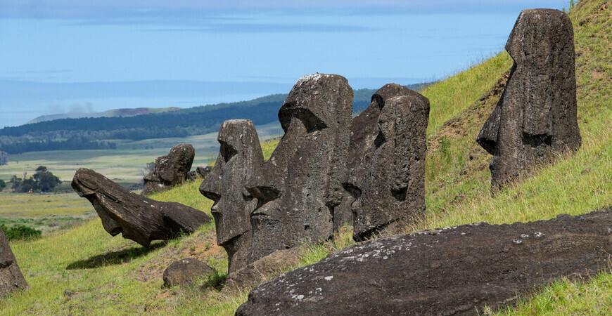 Статуи острова Пасхи (моаи)