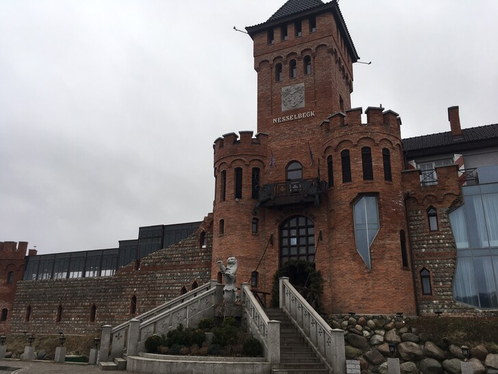 Нессельбек - замок в тевтонском стиле