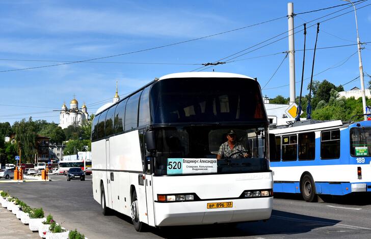 Автобус Владимир — Александров