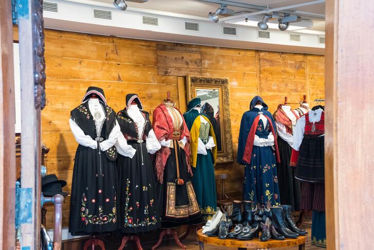 Традиционная норвежская одежда