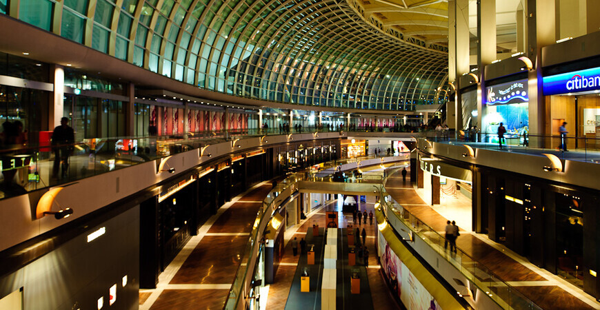 Торговый центр «The Shoppes at Marina Bay Sands»