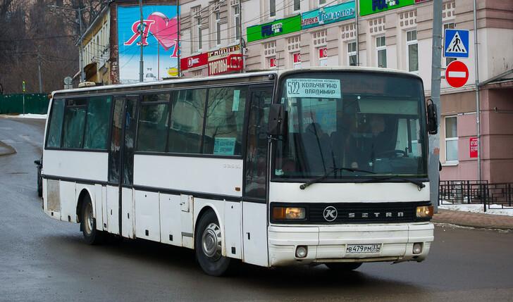 Автобус Владимир — Кольчугино