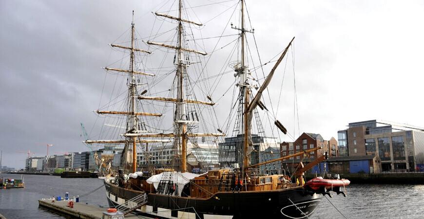 Музей-корабль «The Jeanie Johnston»