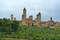 Вид на Сан-Джиминьяно и его башни