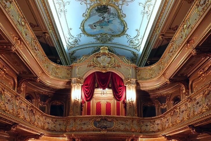 Театр в Юсуповском дворце