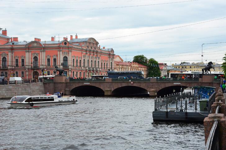 Дворец Белосельских-Белозерских и Аничков мост