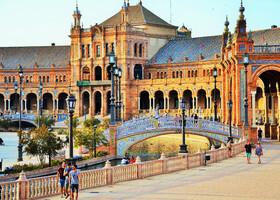 Площадь Испании — визитка Севильи