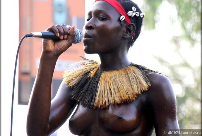 Лица гвинейского карнавала