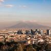 Вид на бизнес -центр Неаполя