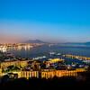 Вечерний вид на Неаполитанский залив