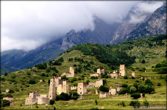 Достопримечательности и пейзажи горной Ингушетии