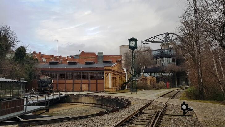 Открытая площадка Технического музея